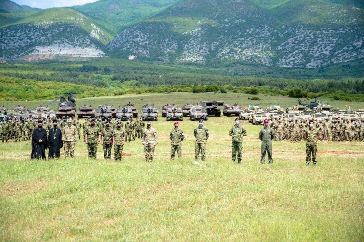 ΚΕΝΤΑΥΡΟΣ 21: Προβολή ισχύος ελληνικών αρμάτων μάχης και πεζικού των ΗΠΑ [pics]