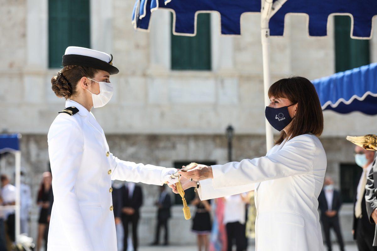 ξίφη - σημαιοφόροι - Πολεμικό Ναυτικό
