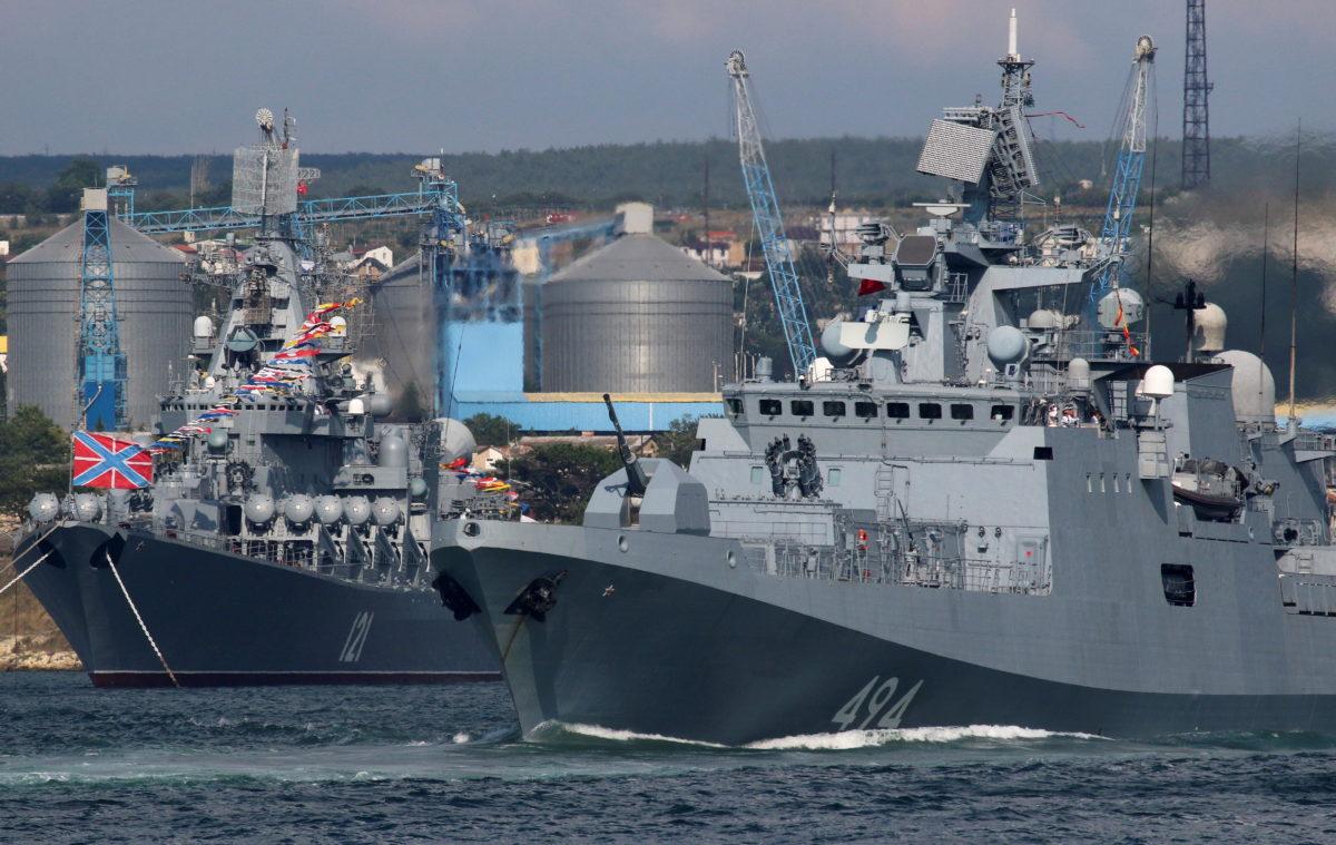 Πούτιν: Το Πολεμικό μας Ναυτικό μπορεί να καταστρέψει οποιοδήποτε στόχο [pics]