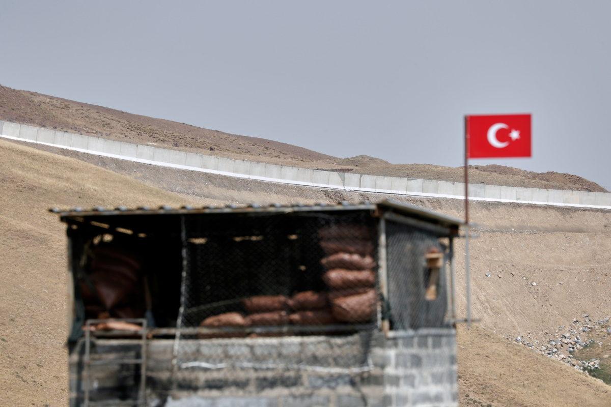 Ερντογάν - σύνορα Ιράν