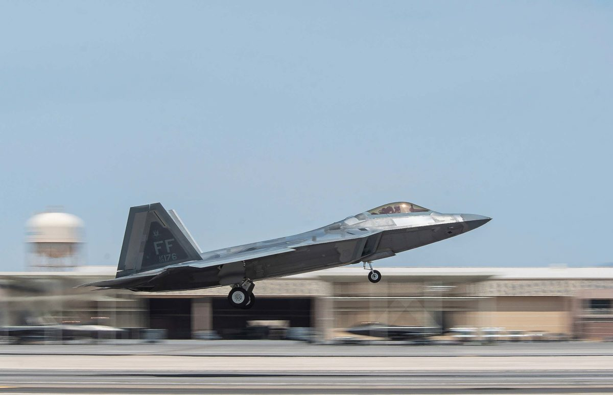 F 22 RED FLAG