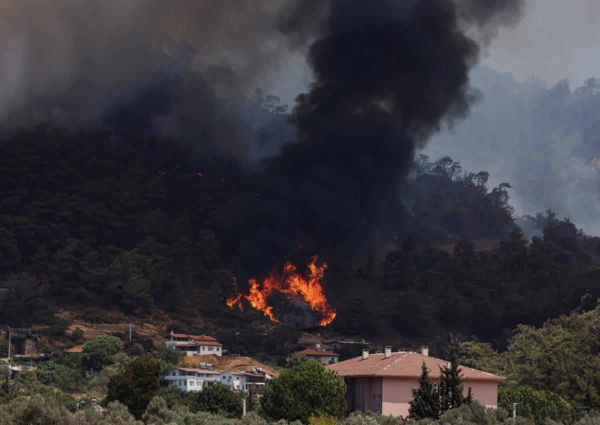 Τουρκία - πυρκαγιές