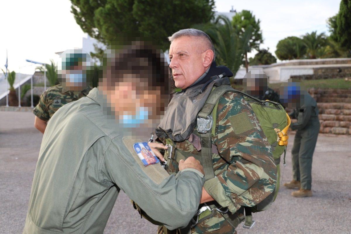 Αρχηγός ΓΕΕΘΑ Κωνσταντίνος Φλώρος