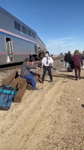 Μοντάνα - τρένο