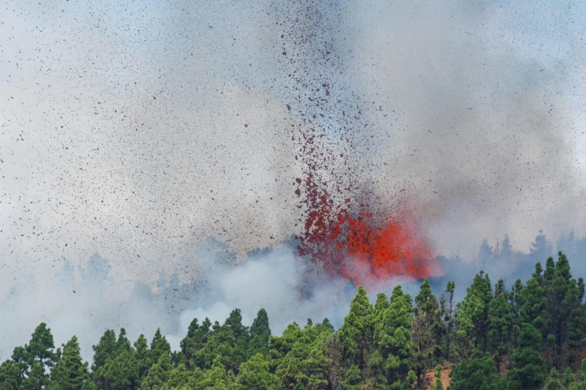 Ισπανία έκρηξη ηφαιστείου