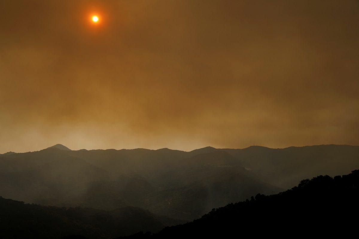 Ισπανία - πυρκαγιά