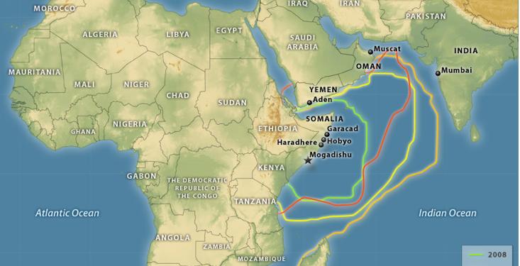 Ο χάρτης της πειρατείας στη Σομαλία και ποιοι παρακαλάνε να μην ...