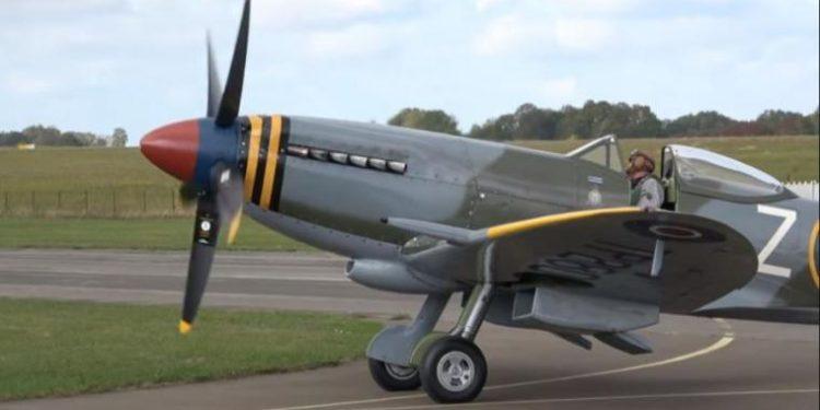 Spitfire MJ755: Επιστρέφει την Πέμπτη στην Ελλάδα το θρυλικό αεροσκάφος του Β' ΠΠ